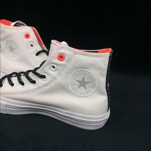 Converse Shoes - NEW Converse CTAS II Shoes Sneakers White Lava 7.5